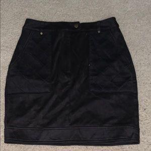 missguided black skirt